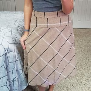 Wintery Skirt with Pockets